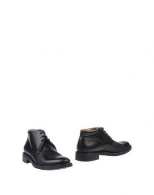 Полусапоги и высокие ботинки BASILE. Цвет: черный
