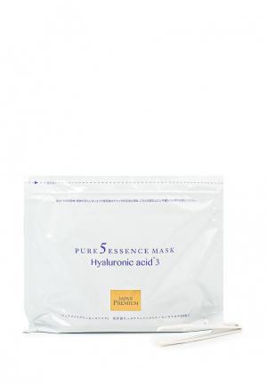 Набор масок для лица Japan Gals c тремя видами гиалуроновой кислоты, 30 шт