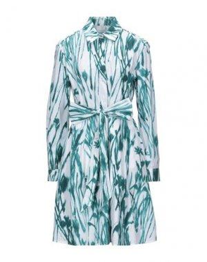 Короткое платье SALVATORE FERRAGAMO. Цвет: белый