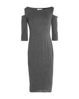 Платье до колена BAILEY 44. Цвет: свинцово-серый