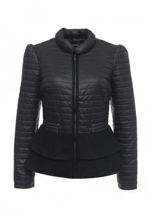 Куртка утепленная Fornarina. Цвет: черный