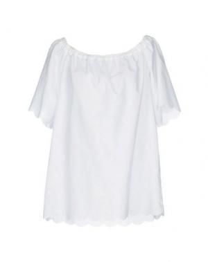 Блузка JANICE. Цвет: белый