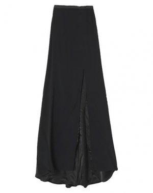 Длинная юбка JENNY PACKHAM. Цвет: черный