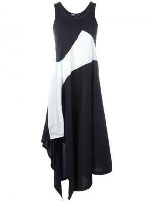 Платье-майка Motion Y-3. Цвет: чёрный