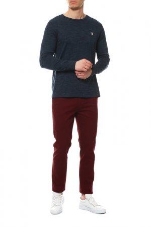 Кофта с длинным рукавом Polo Ralph Lauren. Цвет: синий