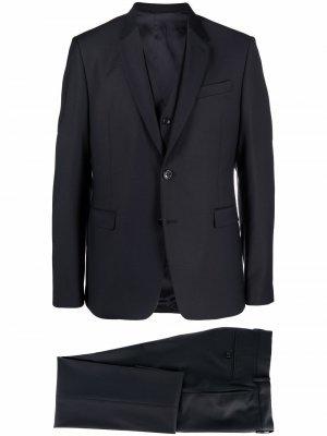 Костюм-тройка с однобортным пиджаком Reveres 1949. Цвет: синий