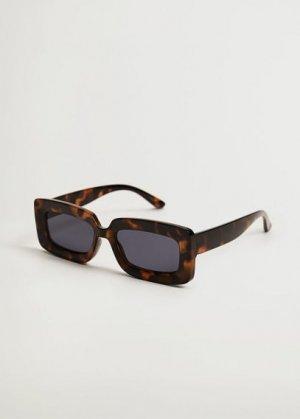 Солнцезащитные очки в стиле ретро - Sophie Mango. Цвет: шоколадный