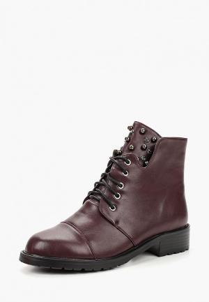 Ботинки Avenir AV929AWCTBF1. Цвет: бордовый