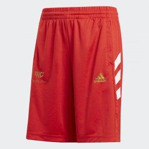 Шорты Salah Performance adidas. Цвет: красный