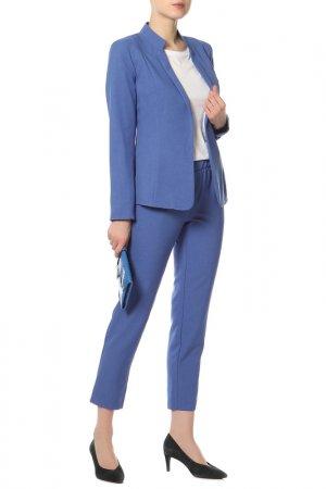 Костюм: пиджак, брюки BEZKO. Цвет: электрик