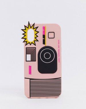 Силиконовый чехол Ban Do для iPhone X/XS-Многоцветный