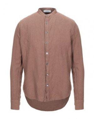 Pубашка ALPHA STUDIO. Цвет: коричневый