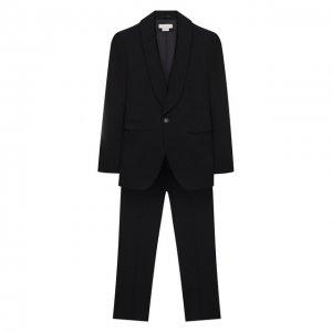 Костюм из пиджака и брюк Stella McCartney. Цвет: чёрный