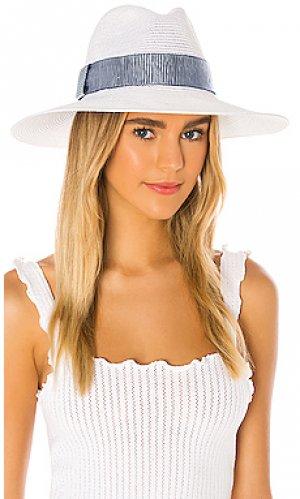 Шляпа emmanuelle Eugenia Kim. Цвет: белый
