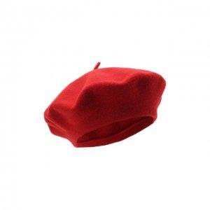 Шерстяной берет Bilancioni. Цвет: красный