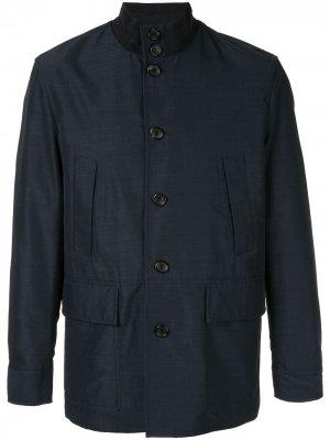 Куртка на пуговицах Cerruti 1881. Цвет: синий