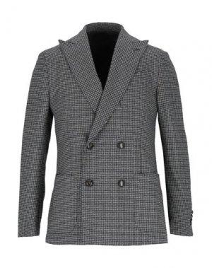 Пиджак LARDINI. Цвет: черный