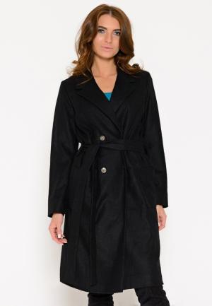 Пальто Irma Dressy. Цвет: черный