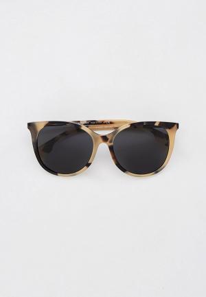Очки солнцезащитные Burberry BE4333 350187. Цвет: бежевый