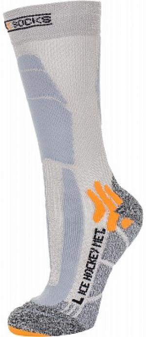 Носки , 1 пара, размер 45-47 X-Socks. Цвет: серый