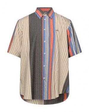 Pубашка VIVIENNE WESTWOOD. Цвет: бежевый