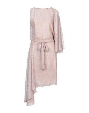 Длинное платье ANNA RACHELE. Цвет: светло-розовый