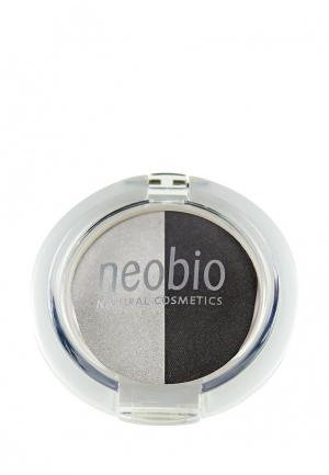 Тени для век Neobio 03 туманная ночь , 2,5 г. Цвет: серый