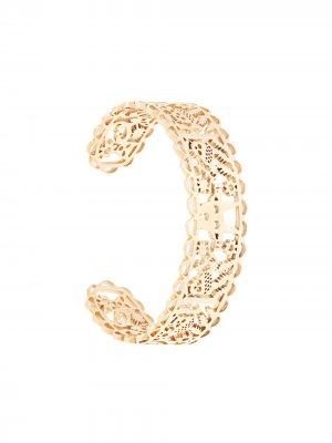 Filigree cuff bracelet Karen Walker. Цвет: золотистый