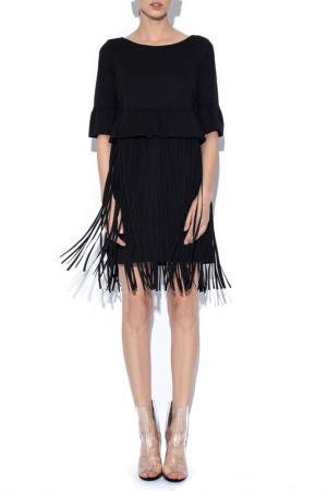 Платье Nissa. Цвет: черный