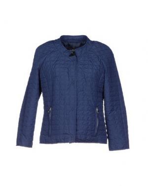 Куртка ADELE FADO. Цвет: синий