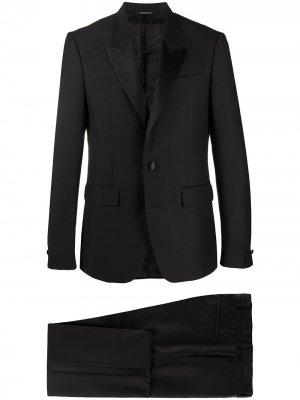 Смокинг узкого кроя Givenchy. Цвет: черный