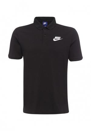 Поло Nike MENS SPORTSWEAR POLO. Цвет: черный