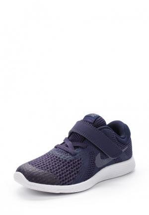Кроссовки Nike BOYS REVOLUTION 4 (TD) TODDLER SHOE. Цвет: синий