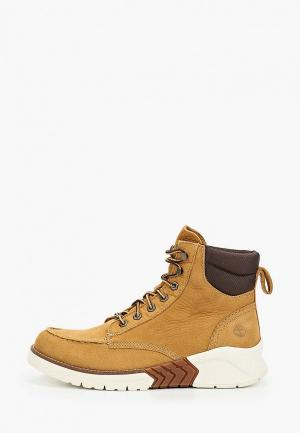 Ботинки Timberland MTCR Moc Toe Boot SPRUCE YELLOW. Цвет: бежевый