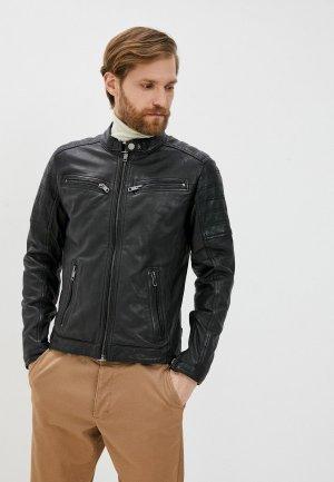 Куртка кожаная Jorg Weber PA609S0/1. Цвет: черный