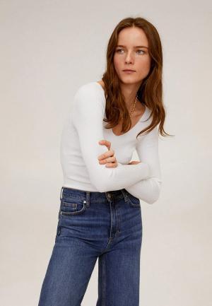 Пуловер Mango - BALLERIN. Цвет: белый