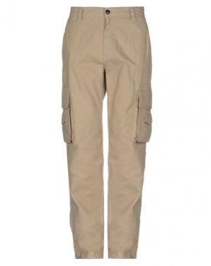 Повседневные брюки AIGLE. Цвет: песочный