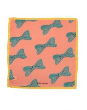 Платок BOBO CHOSES. Цвет: лососево-розовый