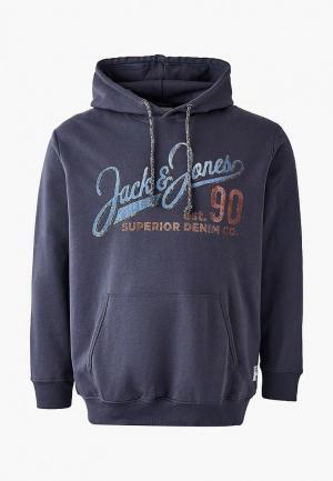 Худи Jack & Jones. Цвет: серый