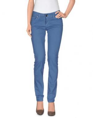 Повседневные брюки LIST. Цвет: пастельно-синий