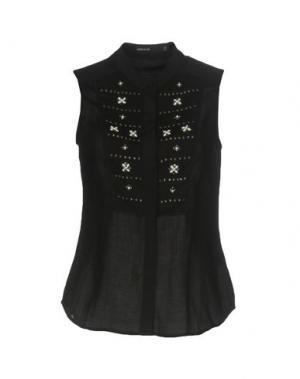 Pубашка KAREN MILLEN. Цвет: черный