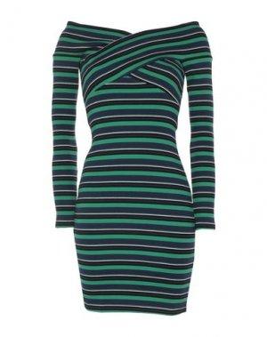 Короткое платье OPENING CEREMONY. Цвет: зеленый