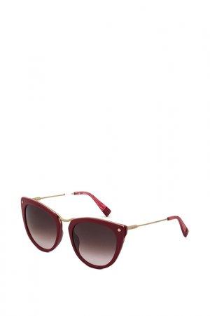 Очки солнцезащитные Furla. Цвет: красный