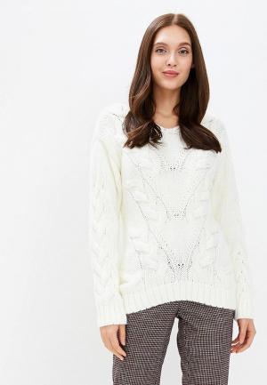 Пуловер Yukostyle. Цвет: белый