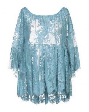 Блузка ANIYE BY. Цвет: небесно-голубой