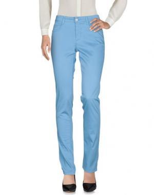 Повседневные брюки NERO GIARDINI. Цвет: пастельно-синий