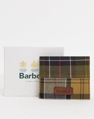 Бумажник в шотландскую клетку -Мульти Barbour