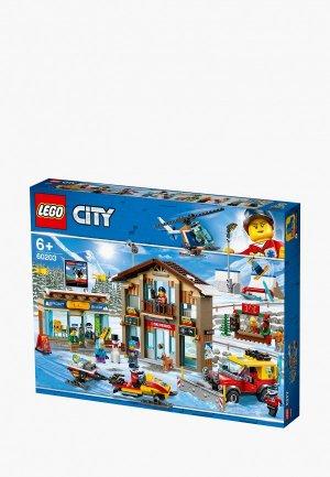 Конструктор LEGO City 60203 Горнолыжный курорт. Цвет: разноцветный