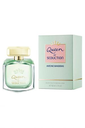 Туалетная вода Queen Of Seduction, 50 мл Antonio Banderas. Цвет: прозрачный