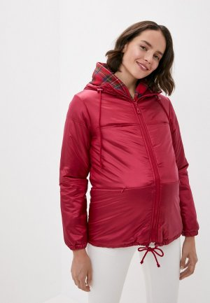 Куртка утепленная BuduMamoy. Цвет: коричневый